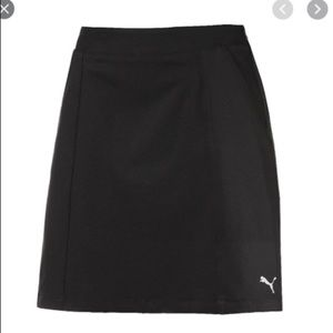 "Puma 18"" Pounce Golf Skirt Black Size Small NWT"